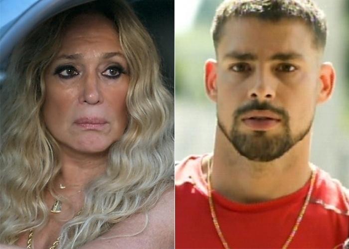 """29.set.2015 - Susana Vieira e Cauã Reymond em cenas de """"A Regra do Jogo"""""""