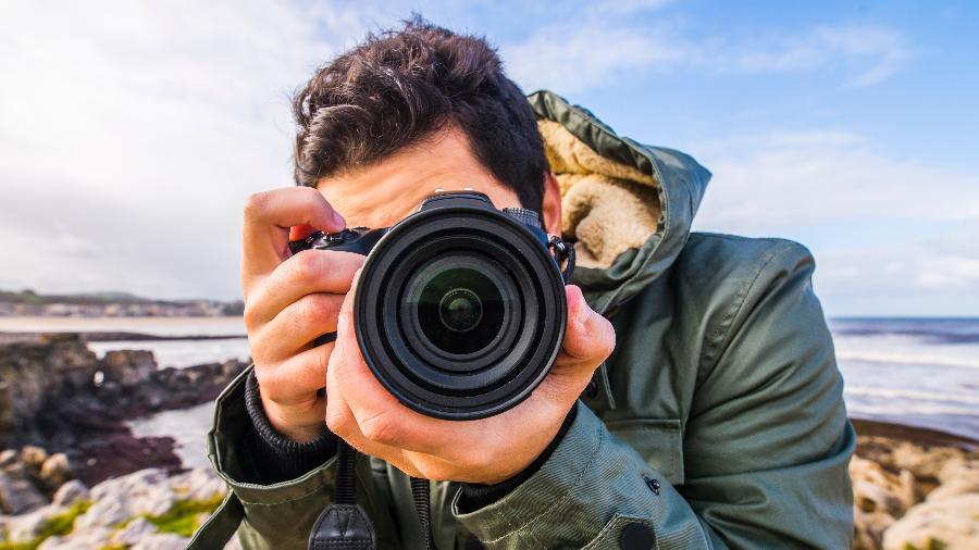 Se o olho fosse como uma lente, células fotorreceptoras podem ser pensadas em megapixels - iStock
