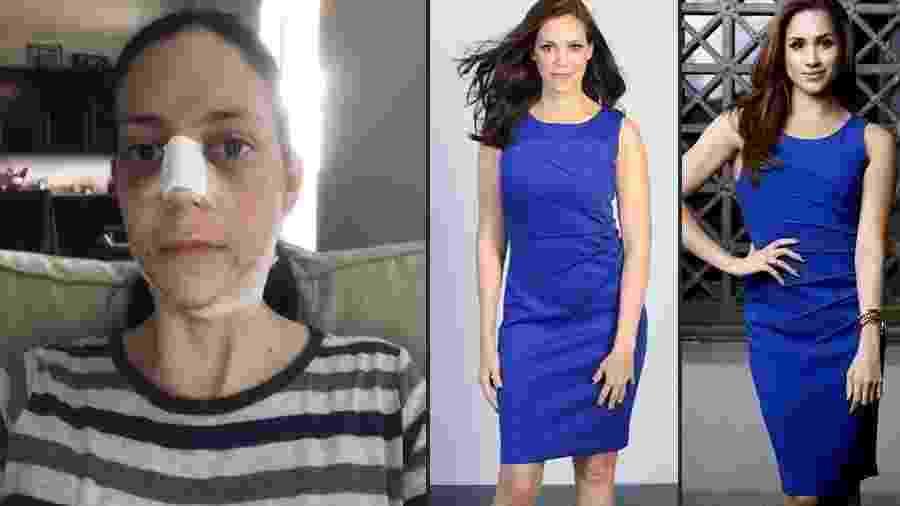 A advogada Sochi Greer passou por cirurgias para ficar parecida com Meghan Markle - Reprodução/Instagram