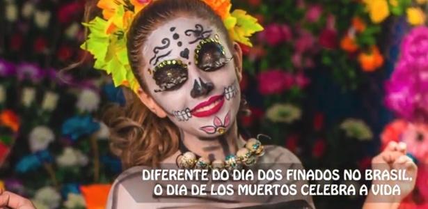 """Data celebrada no México, o """"Dia dos Mortos"""" é considerado um patrimônio da humanidade - Reprodução"""
