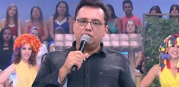 """O apresentador Geraldo Luís não comandará mais o """"Domingo Show"""" - Reprodução / TV Record"""