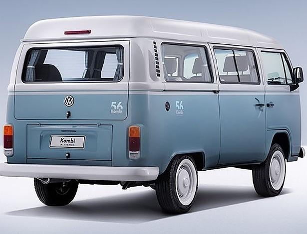 Kombi Last Edition foi lançada em 2013, último ano de produção do veículo - Divulgação/Volkswagen