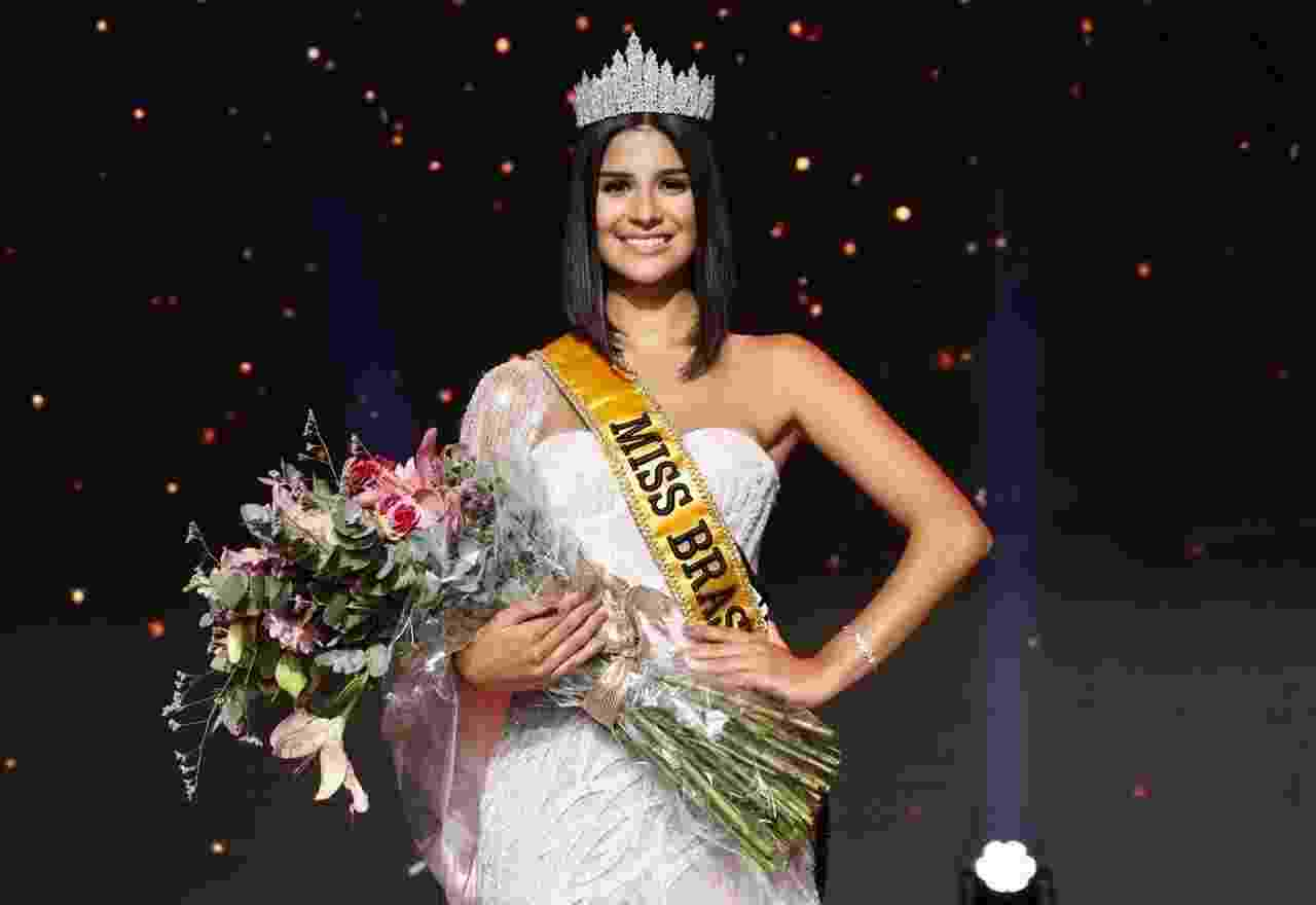A candidata Júlia Horta, de Minas Gerais, vence a final do concurso Miss Brasil 2019 - Mariana Pekin/BOL