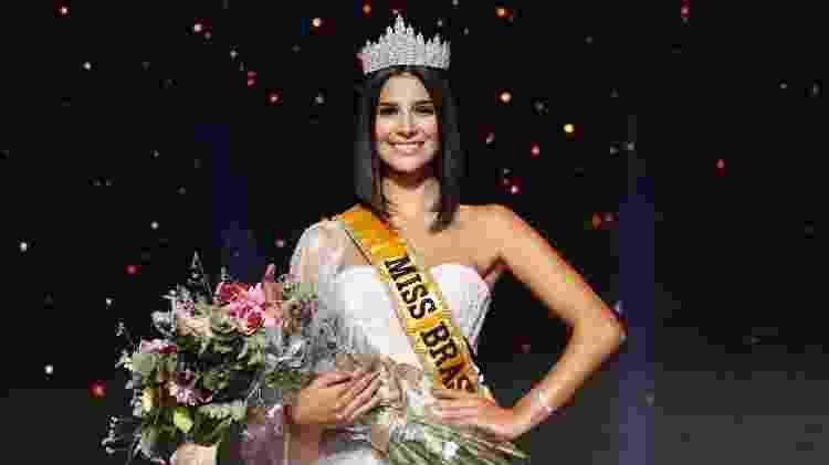 Júlia Horta, de Minas Gerais, vence a final do concurso Miss Brasil 2019 - Mariana Pekin/BOL - Mariana Pekin/BOL