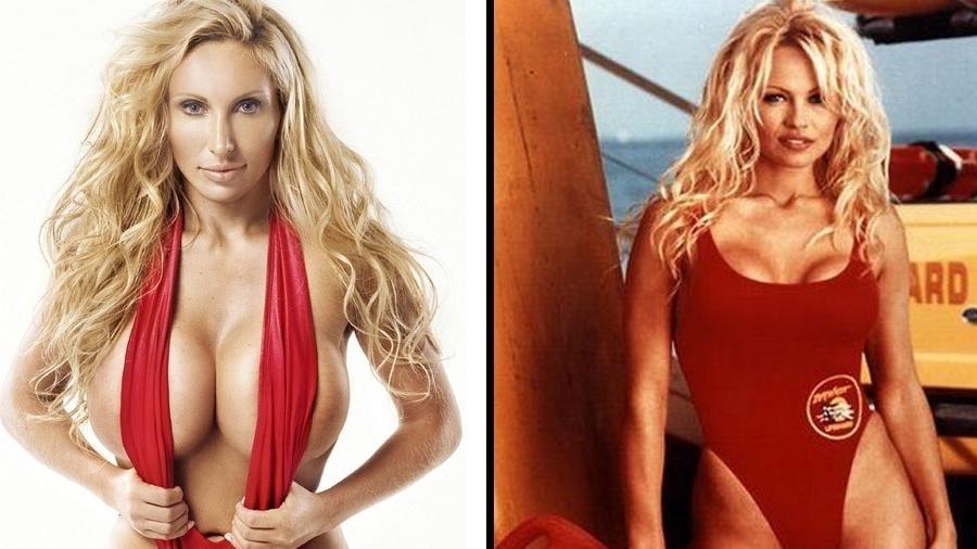 Sabrina aposta em semelhança com Pamela Anderson para vencer o Miss Bumbum World - Reprodução/Instagram