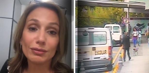4.dez.2018 - Luisa Mell divulga imagens de câmeras de segurança do Carrefour - Reprodução/Instagram