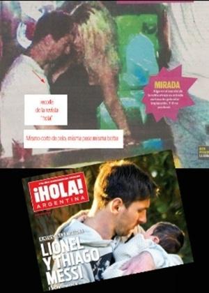 Foto de Messi com stripper nos EUA seria apenas uma montagem
