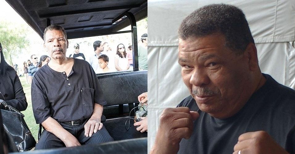 28.abr.2014 - Adilson Rodrigues, o Maguila, segue internado em SP. O ex-boxeador deu entrada na Santa Casa de Misericórdia, na capital paulista, na sexta-feira (25), com um quadro de desidratação.