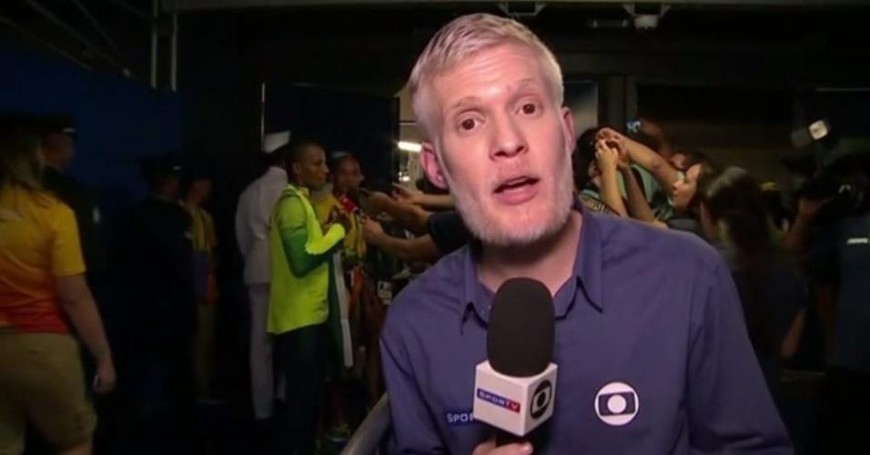 Rodrigo Albornoz era repórter dos canais Sportv desde 2010; ele morreu após luta contra um sarcoma