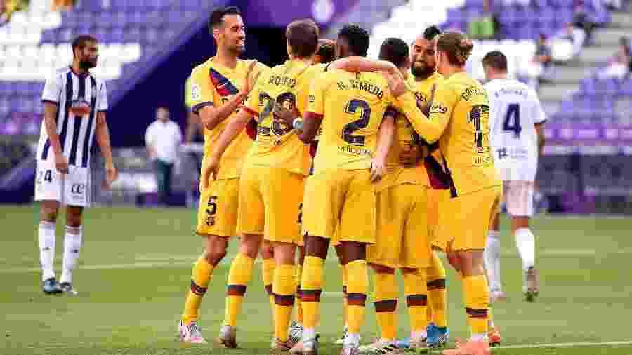 Barcelona vence com gol de Vidal e segue na caçada ao Real Madrid -  Denis Doyle/Getty Images