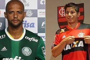 Ranking do Mercado da Bola: Palmeiras e Coritiba lideram nas contratações (Foto: Montagem BOL)