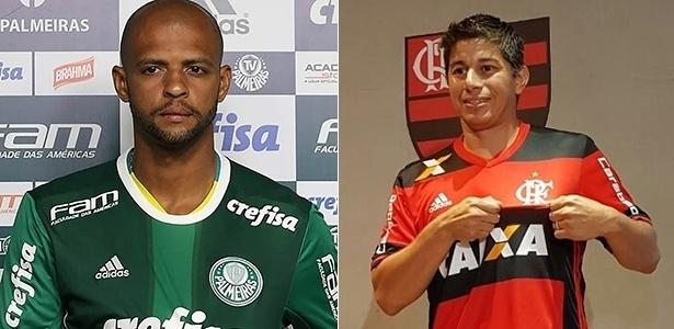 Felipe Melo e Conca agitaram o mercado de contratações durante o mês de janeiro