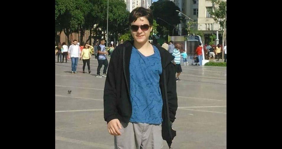 Maria, do Rio de Janeiro (RJ), enviou foto do filho Carlos Felipe