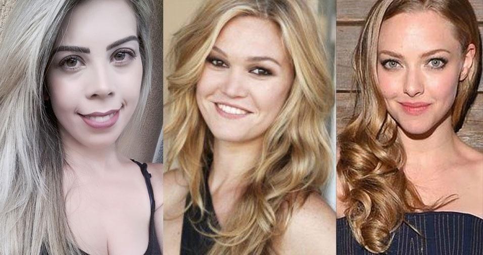 Rayssa Bárbara da Silva, de São José dos Campos (SP), se acha parecida com as atrizes Julia Styles e Amanda Seyfried