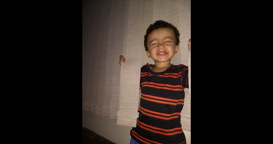 Alecsander Ferreira, de Araxá (MG), enviou foto do filho Theo