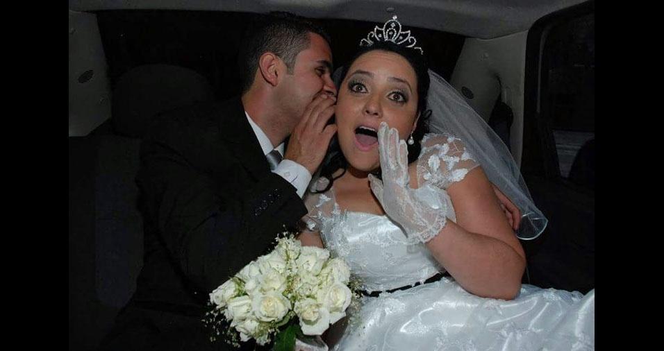 Danielle Ruth do Nascimento Oliveira e Marcos Silva de Oliveira, de São Paulo (SP), se casaram em 6 de dezembro de 2014