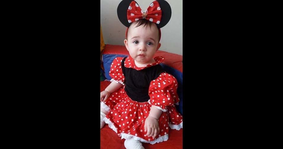 Denise e Rodrigo, de Independência (SP), enviaram foto da filha Livia