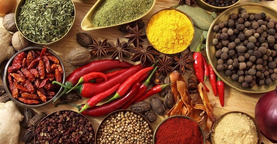 10. 70% das especiarias do mundo vêm da Índia