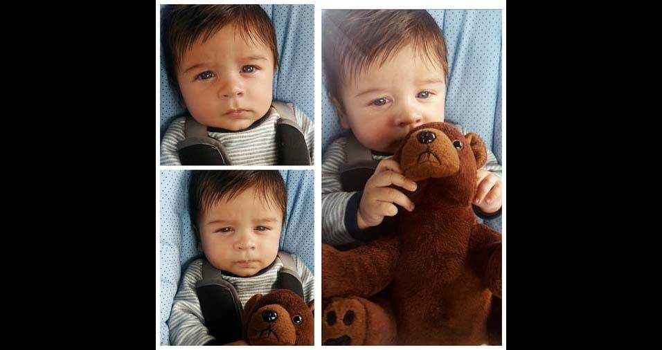 """Laila enviou foto do filho Enzo Henrique: """"Quando o vi pela primeira, vez entendi o verdadeiro amor incondicional!"""""""