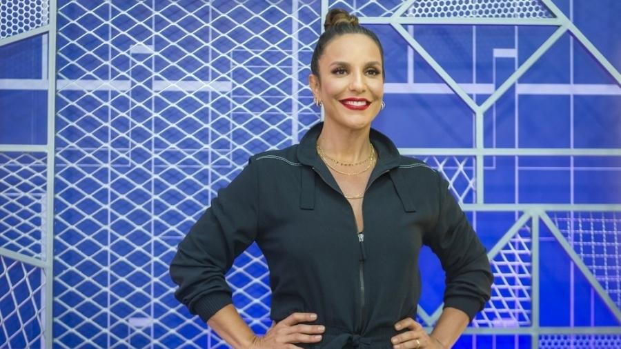 Ivete Sangalo volta com tudo após a gravidez de gêmeas  - Globo/Raquel Cunha