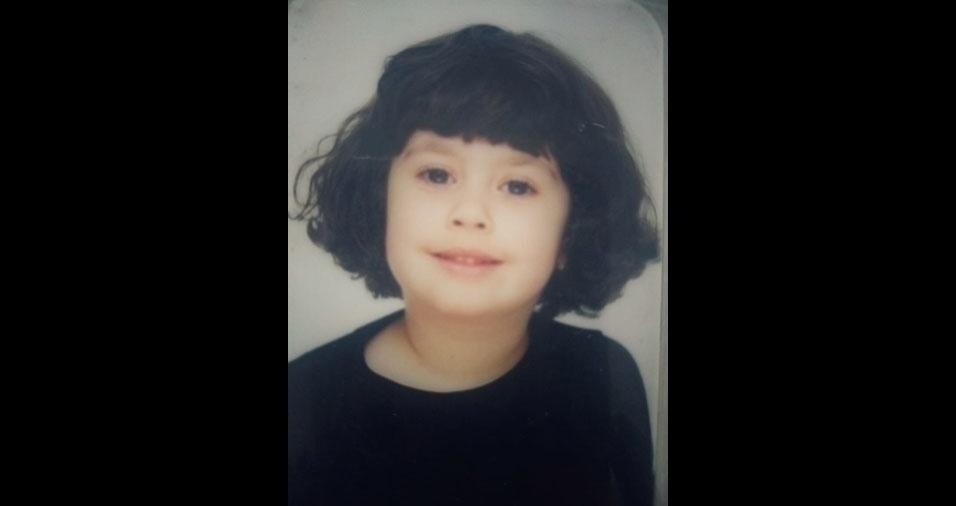 """""""Minha filha Stephani, minha alegria"""", conta a mamãe Valéria Figueiredo, de Mairinque (SP)"""