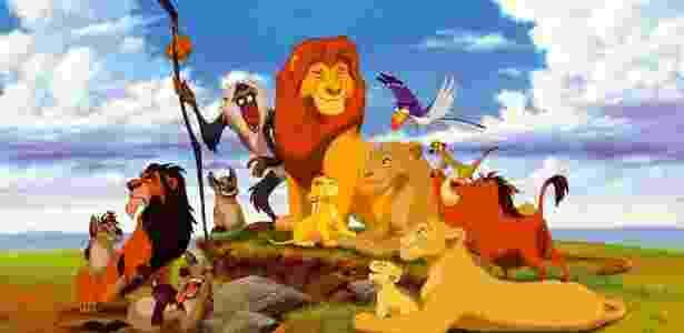 Família do Simba (O Rei Leão, 1994) - Divulgação/Walt Disney Pictures