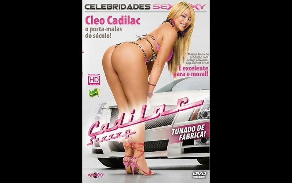"""Um dos primeiros filmes estrelados por Cleo Cadillac foi """"Cadilac Sexxxy"""""""