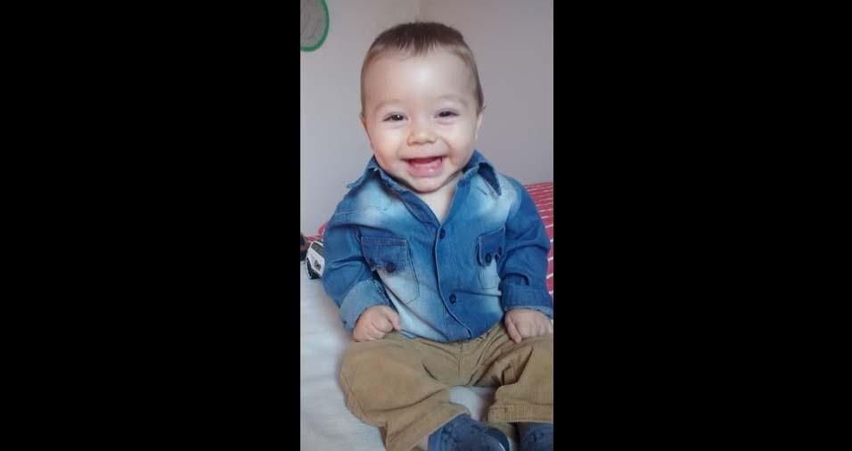 Neila enviou foto do filho Gabriel, de Rubiataba (GO)