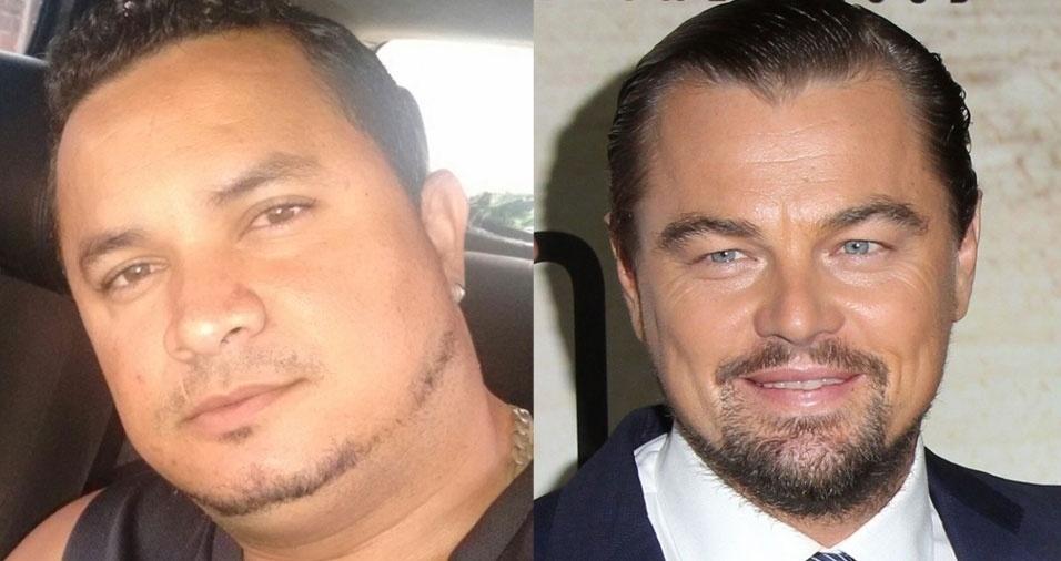 Josinaldo do Nascimento Cunha, de Pernambuco, é a versão brasileira do galã Leonardo DiCaprio