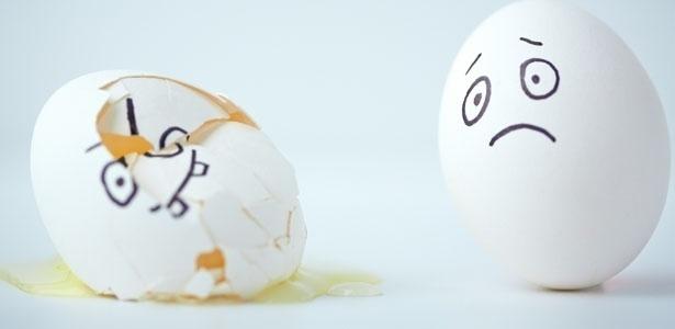 Reprodução/The broken egg