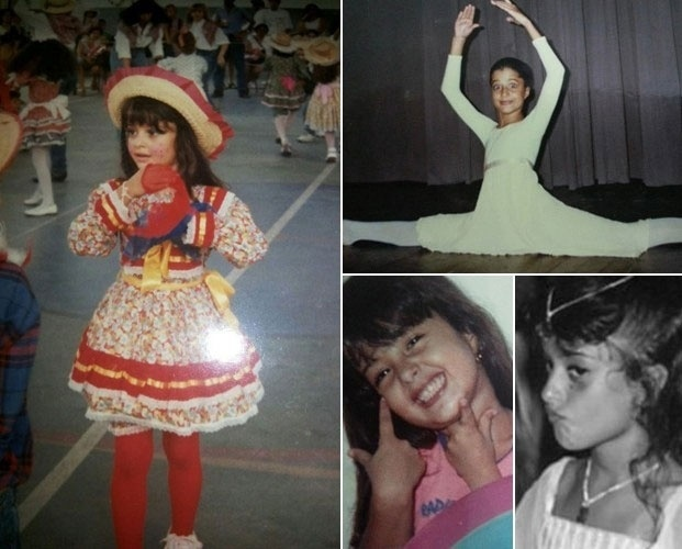 Sem data - Desde pequenininha, Aline Riscado mostrava aptidão para a dança, estudando balé clássico desde os três anos. Na época do colégio, Aline chegava a praticar até seis horas de dança. Chegou a deixar a paixão para tentar concluir um curso na faculdade, mas acabou voltando à dança aos 18 anos, já profissionalmente