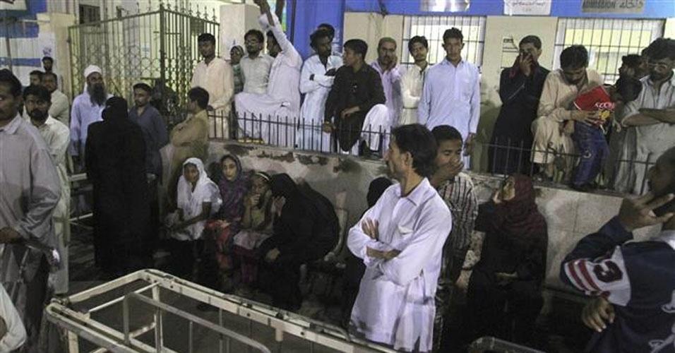 21. Baluchistão, Paquistão. Uma explosão no santuário Shah Noorani durante um ritual matou 45 pessoas e deixou mais de 100 feridas, em 12 de novembro. O Estado Islâmico assumiu a responsabilidade pelo ataque