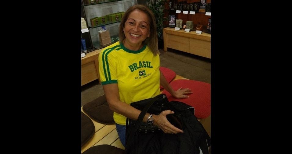 Alcione Batista, 48 anos, de Pensilvania (EUA)