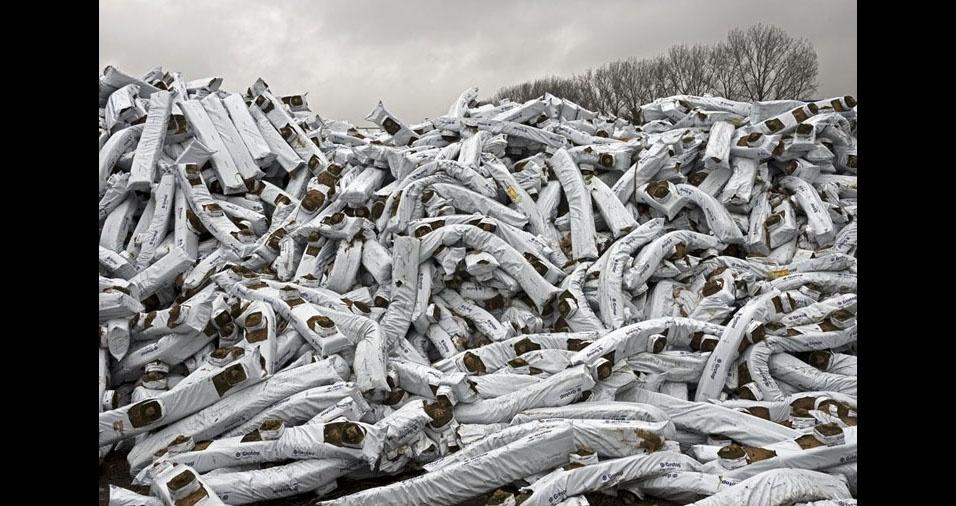 3. Seu objetivo é documentar os fluxos de resíduos e os esforços para reciclagem na Europa Ocidental