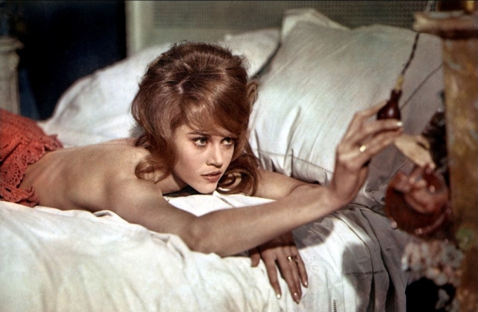 """1964 - Jane Fonda no filme """"La Ronde"""""""