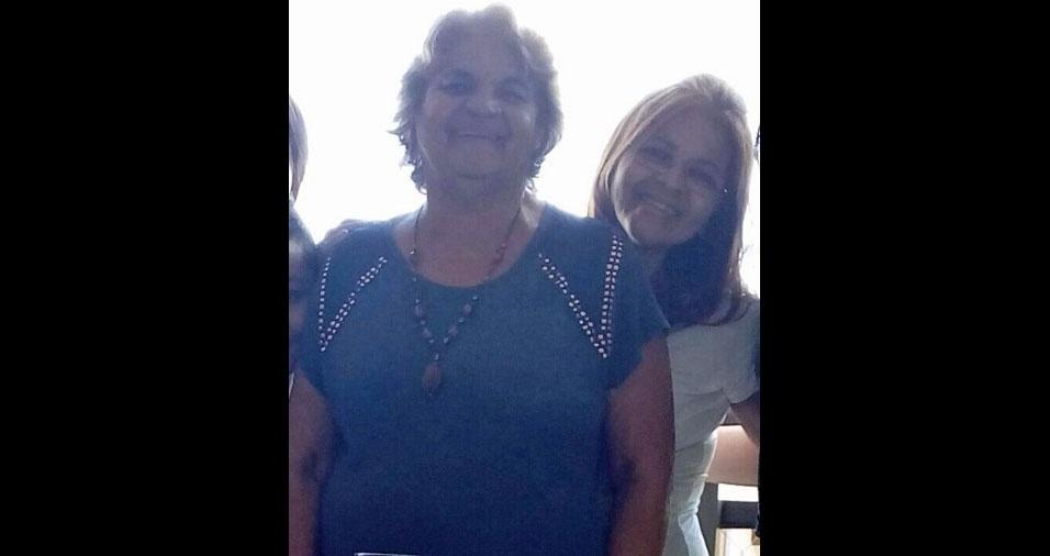 Silvana com a mamãe Alzira, de Guarulhos (SP)