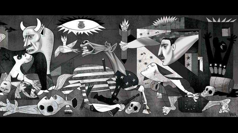 Guernica - Reprodução/The Guardian