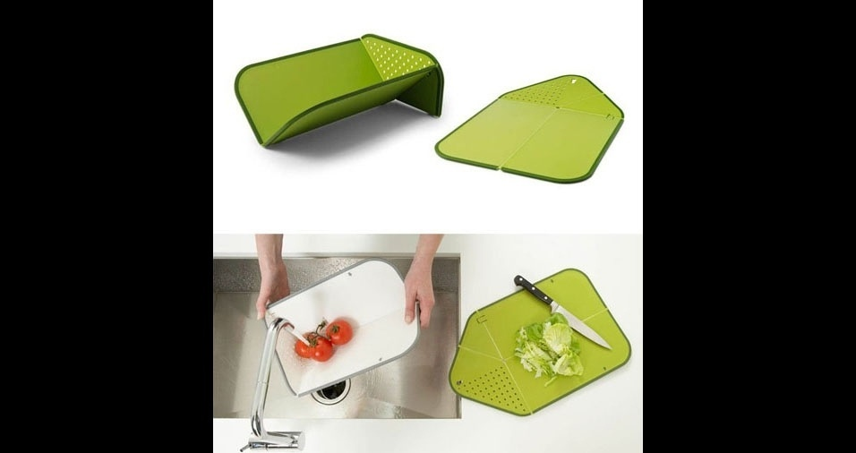 33. Facilita a lavagem e a transferência do alimento para a panela