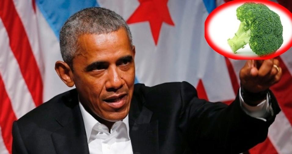 18. Barack Obama - Brócolis