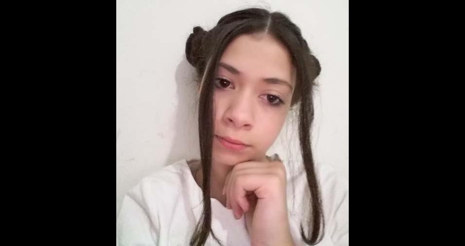 Thais Gabriela, de Carapicuiba (SP), enviou foto da filha Eduarda, de 12 anos