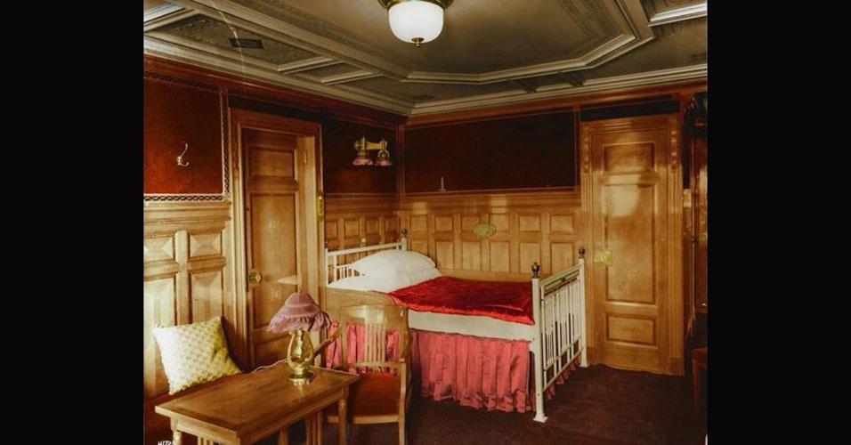 Imagens raras do Titanic foram coloridas