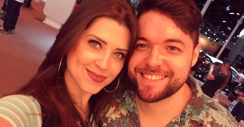 22.dez.2016 - Andressa Ganacin e Nasser Rodrigues se conheceram no