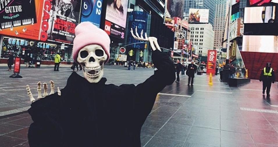 """28. """"Uma viagem divertida à cidade que nunca dorme. Nova Iorque me dá vida!"""""""