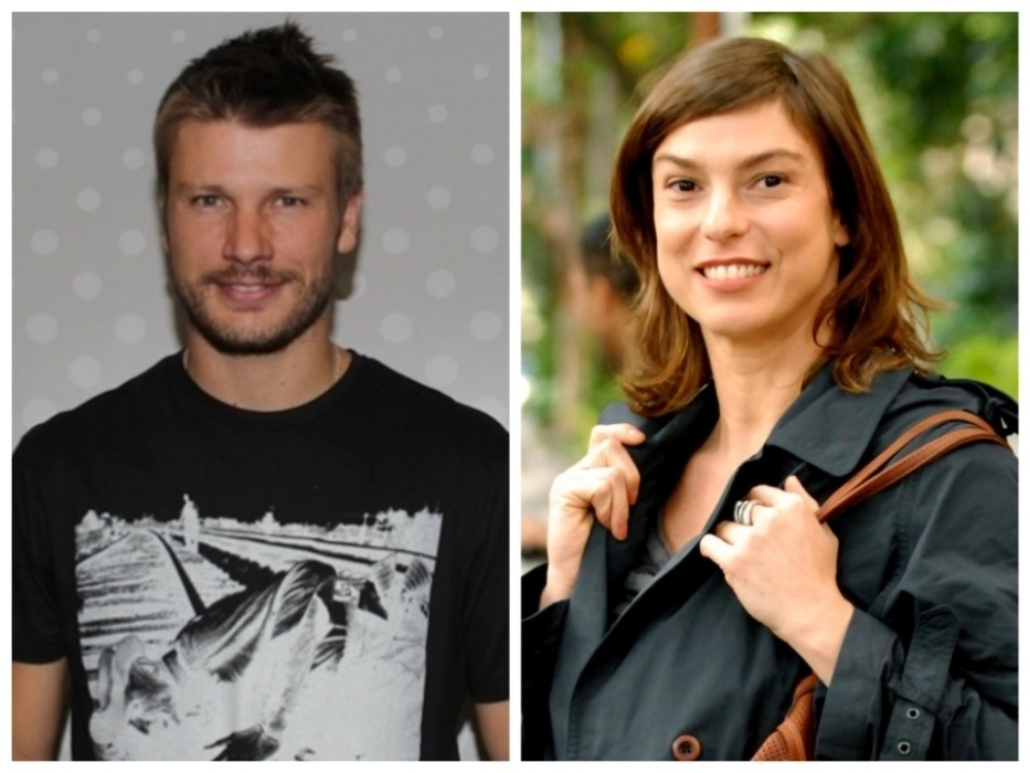 Rodrigo Hilbert e Maria Paula