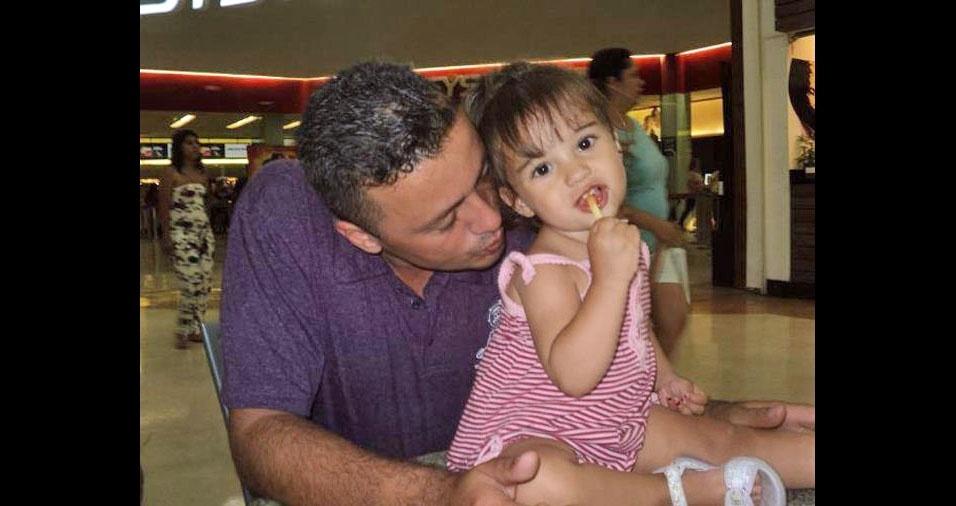Papai Ulisses e sua filha Bruna