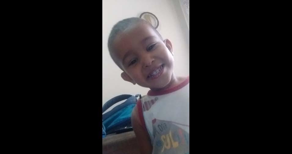 Fernando Selvino enviou foto do filho Miguel, de Belo Horizonte (MG)