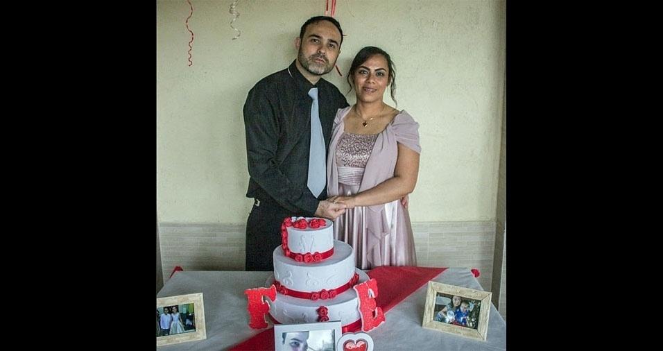 Flavio Ricardo Mikko e Elisangela de Souza Xavier Bezerra se casaram em 20/08/2016, mas já estão juntos há quase 20 anos