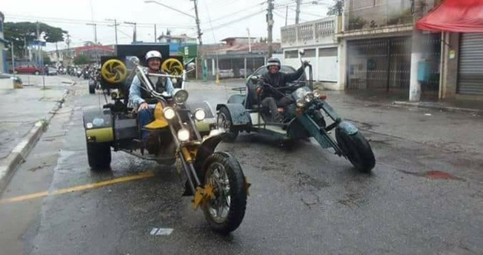 O Sidney Uchôa, de São Paulo (SP), mandou homenagem ao sogro, Laércio Alves