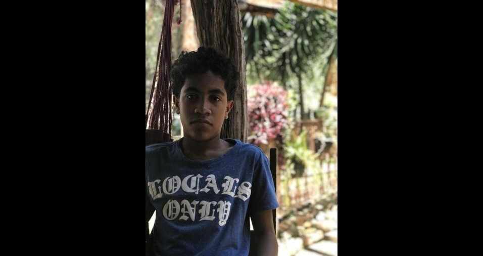 O Mazinho tem 13 anos e mora em Bom Despacho (MG)