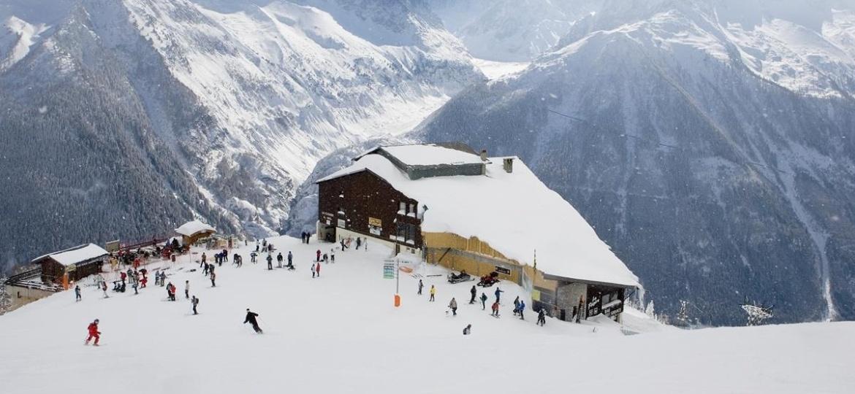 Estação de esqui na França - Reprodução/European Voyages